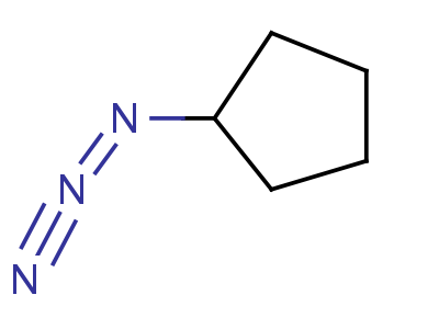 叠氮基环戊烷结构式,33670-50-7结构式
