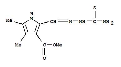 肼基]甲基]-4,5-二甲基-1h-吡咯-3-羧酸甲酯结构式_300733-18-0结构式