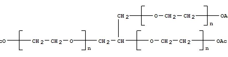 甘油聚醚-7 三乙酸酯结构式_57569-76-3结构式图片