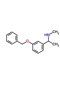 1-[3-(苄氧基)苯基]-n-甲基乙胺结构式_123926-66-9结构式