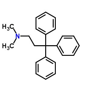 n,n-二甲基-g,g-二苯基苯丙胺结构式_2645-55-8结构式