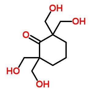2,2,6,6-四(羟基甲基)环己酮结构式_3232-65-3结构式