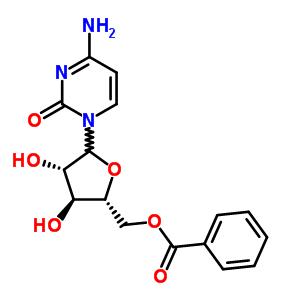 4-二羟基四氢呋喃-2-基]甲基苯甲酸酯结构式