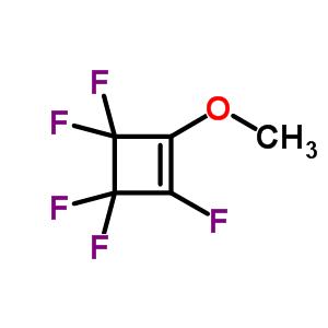 1,3,3,4,4-五氟-2-甲氧基环丁烯结构式_359-98-8结构式