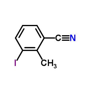 3-碘-2-甲基苯甲腈 cas no.