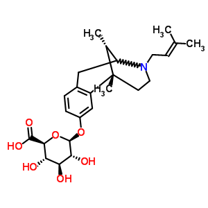 0 sup>2,7 /sup>]十三-2,4,6-三烯-4-基beta-d-吡喃葡糖苷酸结构式_54