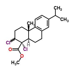 二氯去氢松香酸结构式_57055-39-7结构式