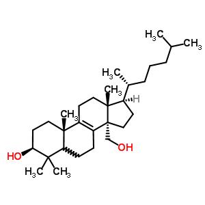 32-羟基-24,25-二氢羊毛固醇结构式_59200-39-4结构式