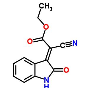 2-氰基-2-(1,2-二氢-2-氧代-3h-吲哚-3-基)-乙酸乙酯结构式_59225-18