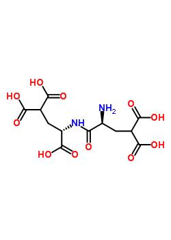 gamma-羧基谷氨酰-gamma-羧基谷氨酸结构式_64153-41-9结构式