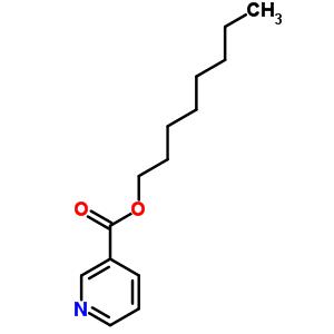 烟酸正辛酯结构式_70136-02-6结构式