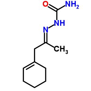 2-[2-(1-环己烯-1-基)-1-甲基亚乙基]-肼羧酰胺结构式_777-61-7结构式图片