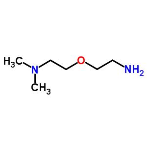 (9ci)-2-(2-氨基乙氧基)-n,n-二甲基-乙胺结构式_85322-63-0结构式