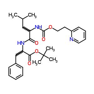 基羰基氨基)戊酰基]氨基]-3-苯基-丙酸叔丁酯结构式_87325-31-3结构式